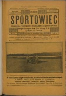 Sportowiec 1923, R. 1 nr 31