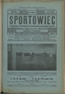 Sportowiec 1923, R. 1 nr 33