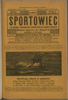 Sportowiec 1923, R. 1 nr 37