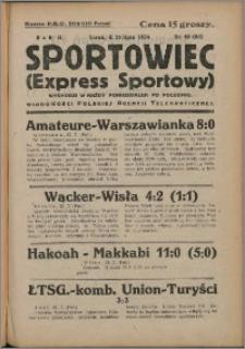 Sportowiec 1924, R. 2 nr 40