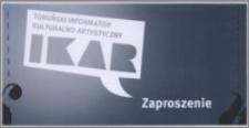 Toruński Informator Kulturalno-Artystyczny : zaproszenie : 3 września 2013 r.