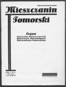 Mieszczanin Pomorski 1930, R. 1, nr 3