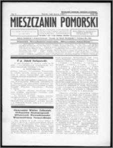 Mieszczanin Pomorski 1932, R. 3, nr 5
