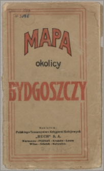 Mapa okolic Bydgoszczy
