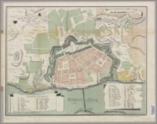 Grund-Riss der Pohlnisch Preusischen Stadt Thorn : Anno MDCCLXIX [1769], den 16 Aug