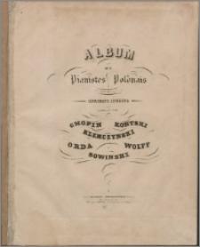 Album de Pianistes Polonais : morceaux inédits
