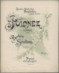 Polonez : na fortepian