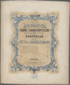 Rozmowa : polonez charakterystyczny : skomponowany i ułożony na fortepian : dz. 14