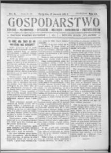 Gospodarstwo, R. 57 (1925), nr 6