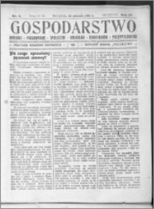 Gospodarstwo, R. 57 (1925), nr 8