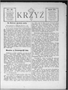 Krzyż, R. 56 (1924), nr 10