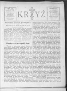 Krzyż, R. 57 (1925), nr 31