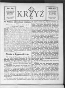 Krzyż, R. 57 (1925), nr 36