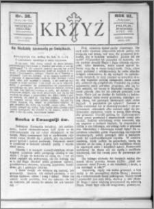 Krzyż, R. 57 (1925), nr 38