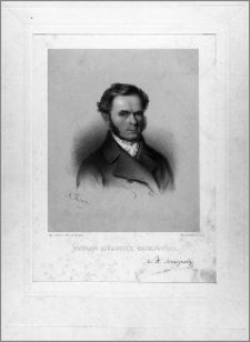 Wacław Alexander Maciejowski (portret-popiersie z facsimile podpisu)