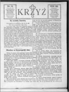 Krzyż, R. 58 (1926), nr 6