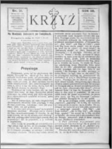 Krzyż, R. 58 (1926), nr 31