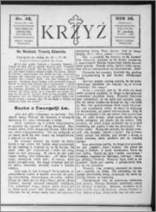 Krzyż, R. 58 (1926), nr 48