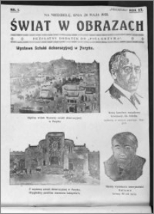 Świat w Obrazach, R. 57 (1925), nr 1