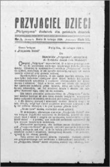 Przyjaciel Dzieci, R. 56 (1924), nr 1