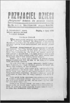 Przyjaciel Dzieci, R. 56 (1924), nr 10