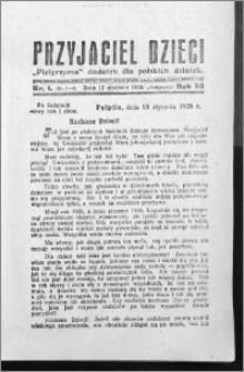 Przyjaciel Dzieci, R. 58 (1926), nr 1