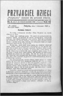 Przyjaciel Dzieci, R. 58 (1926), nr 5