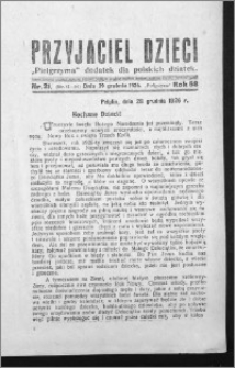 Przyjaciel Dzieci, R. 58 (1926), nr 21