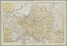 Mapa Polski w granicach z roku 1772 (przed 1-szym rozbiorem) : w 100-letnią rocznicę III-go rozbioru Polski