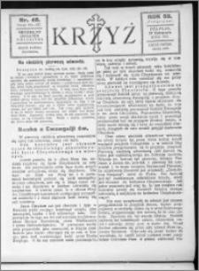 Krzyż, R. 59 (1927), nr 48