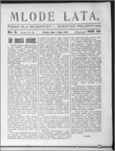 Młode Lata, R. 59 (1927), nr 6