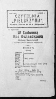 Czytelnia Pielgrzyma, R. 60 (1928), z. 1
