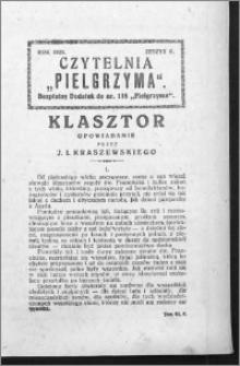 Czytelnia Pielgrzyma, R. 60 (1928), z. 6