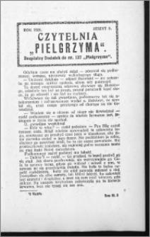 Czytelnia Pielgrzyma, R. 60 (1928), z. 8