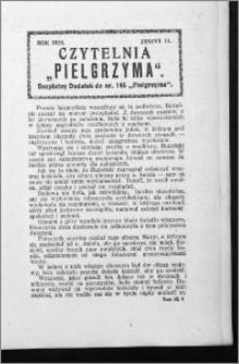 Czytelnia Pielgrzyma, R. 60 (1928), z. 11