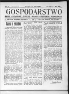 Gospodarstwo, R. 60 (1928), nr 4