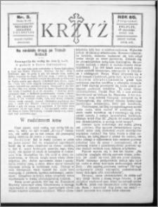 Krzyż, R. 60 (1928), nr 3