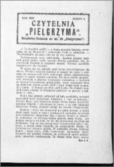 Czytelnia Pielgrzyma, R. 61 (1929), z. 4
