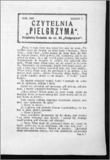 Czytelnia Pielgrzyma, R. 61 (1929), z. 7