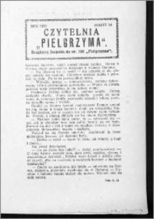 Czytelnia Pielgrzyma, R. 61 (1929), z. 14