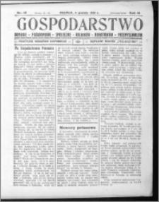 Gospodarstwo, R. 61 (1929), nr 12