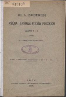 Księga herbowa rodów polskich. Z. 1-2