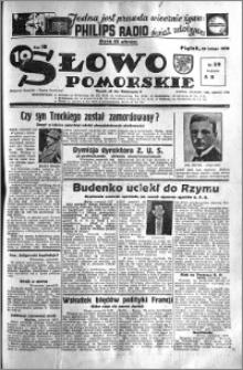 Słowo Pomorskie 1938.02.18 R.18 nr 39