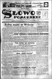 Słowo Pomorskie 1938.02.19 R.18 nr 40