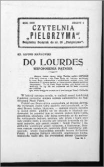 Czytelnia Pielgrzyma, R. 62 (1930), z. 1