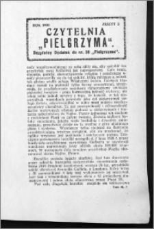 Czytelnia Pielgrzyma, R. 62 (1930), z. 3