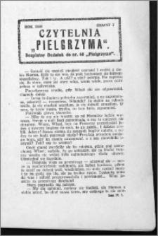 Czytelnia Pielgrzyma, R. 62 (1930), z. 7