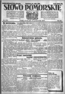 Słowo Pomorskie 1923.10.30 R.3 nr 249