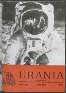 Urania 1970, R. 41 nr 5