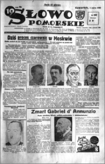 Słowo Pomorskie 1938.03.03 R.18 nr 50